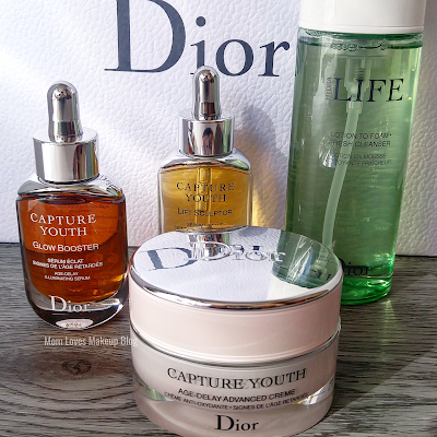 dior capture youth serum evening routine review