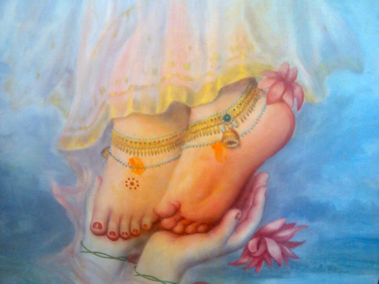 The Lotusfeet of Lord Sri Krishna