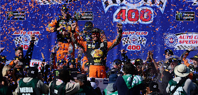Fans Can Celebrate in Gatorade Victory Lane At #NASCAR  Auto Club 400 With Special Ticket Package