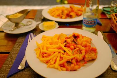 Le Chameau Bleu - Fish and Chips de Bienne - Suisse