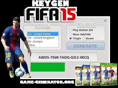 FIFA 15 Cd Key Generator