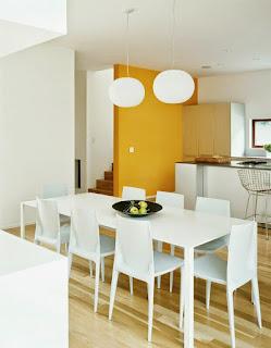 setiap ruangan harus dipakai secara efektif dan efisien menentukan meja makan