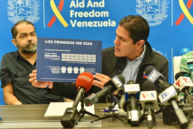 VENEZUELA: Lester Toledo: 100 días de esfuerzo y coordinación para salvar vidas.