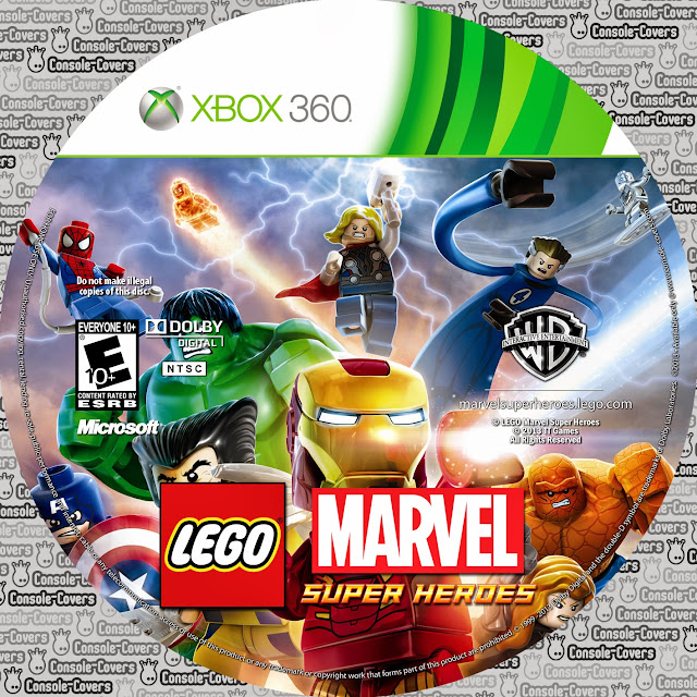 Label LEGO Marvel Super Heroes Xbox 360