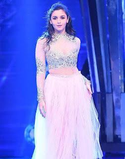 Alia Bhatt On Ramp