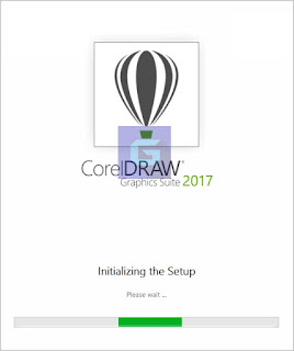 CorelDraw Graphic Suite 2017 Install process