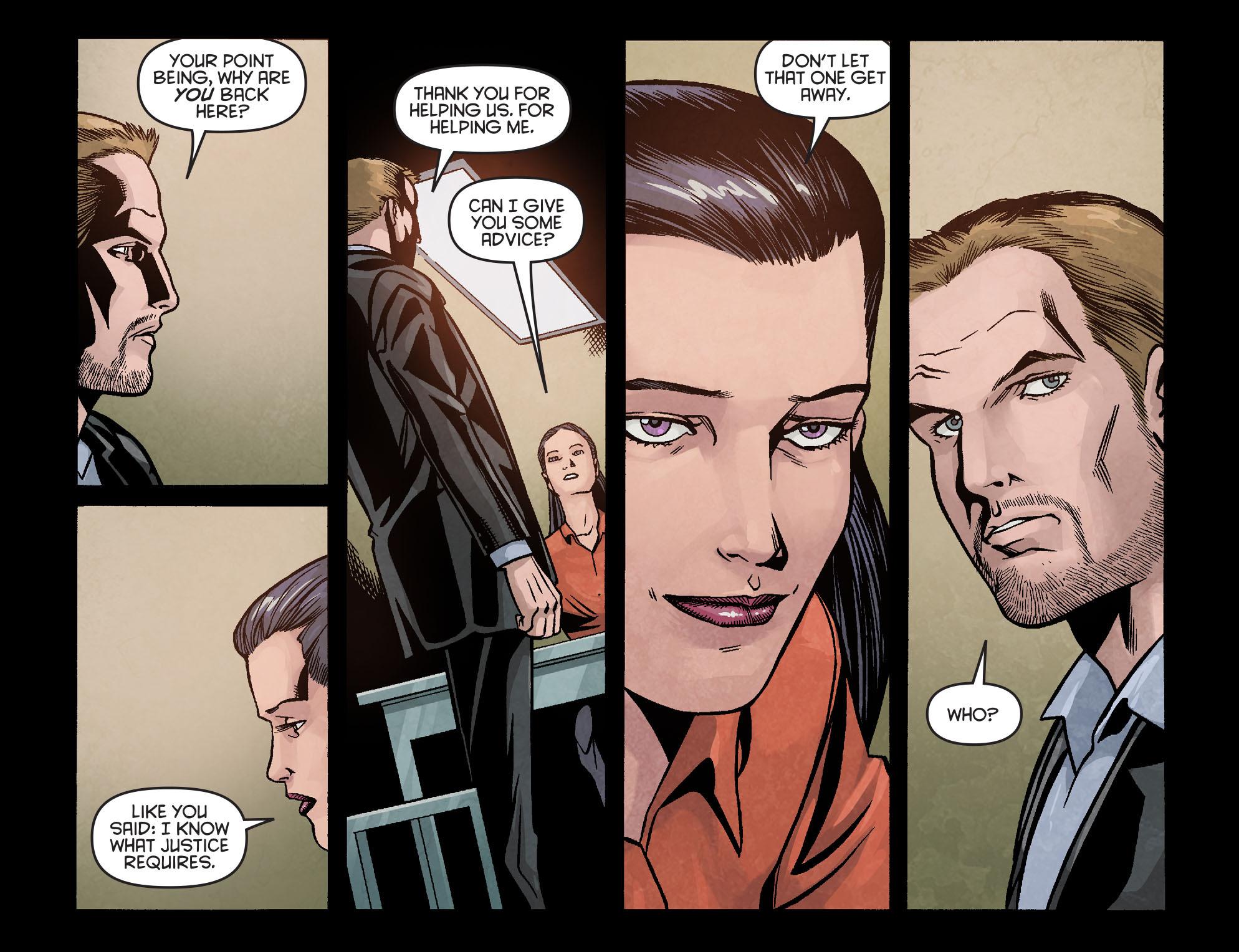 Read online Arrow: Season 2.5 [I] comic -  Issue #16 - 18