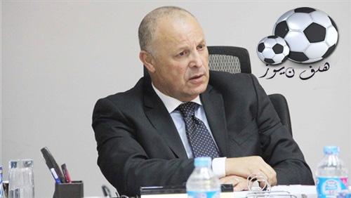 هانى أبو ريدة مجتمع بلاعبى منتخب مصر قبل مباراة الإياب ضد إى سواتينى أو منتخب سويزلاندا فى تصفيات أمم أفريقيا 2018