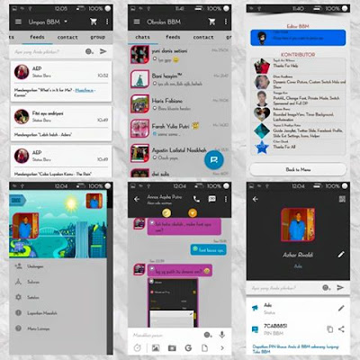 BBM MOD Simple Dark 2.9.0.45 APK