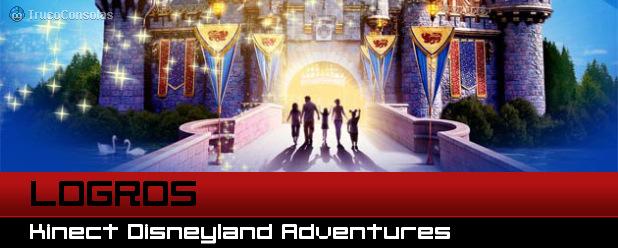 Logros Kinect Disneyland Adventures XBox 360