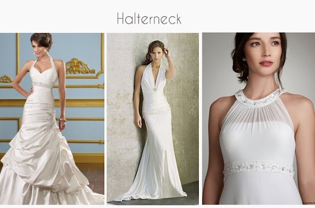 Halter-neck Wedding Gowns and Dresses