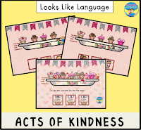 Get your free trial and spread a little kindness! Looks Like Language!