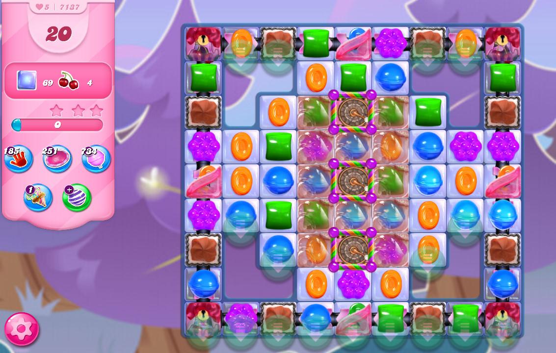 Candy Crush Saga level 7137