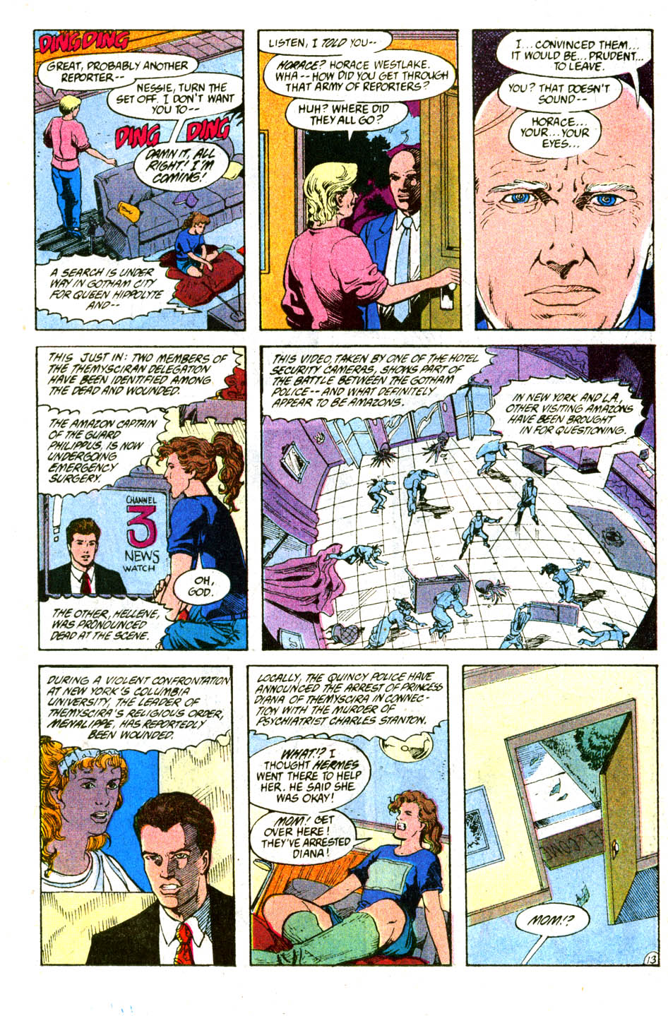 Read online Wonder Woman (1987) comic -  Issue #56 - 15