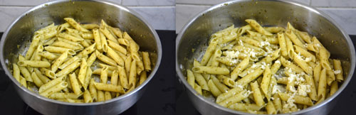 Easy Pesto Penne Pasta