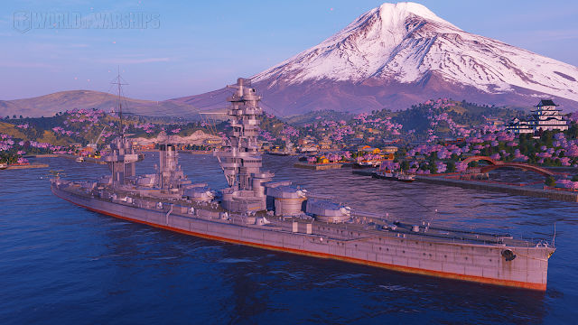 Fuso world of warships