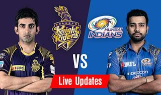 IPL10 KKR vs MI 13th may Match