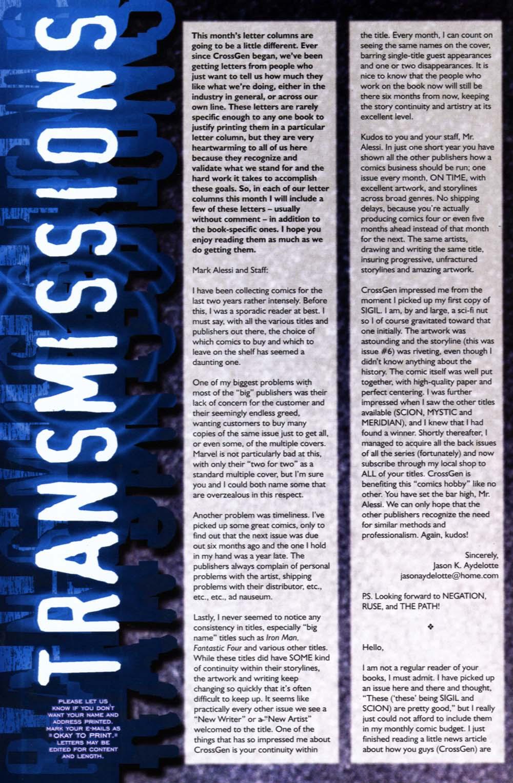 Read online Sigil (2000) comic -  Issue #19 - 31