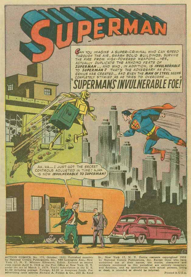 Read online Action Comics (1938) comic -  Issue #173 - 5