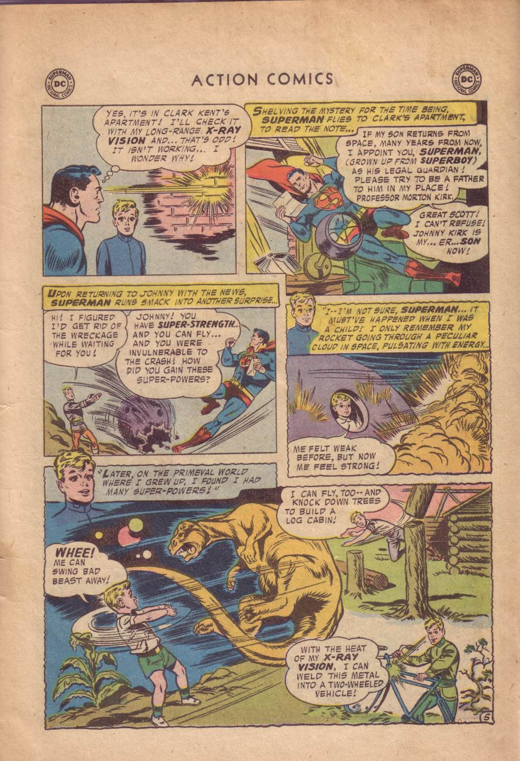 Read online Action Comics (1938) comic -  Issue #232 - 7