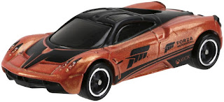 hot wheels forza  pagani huayra