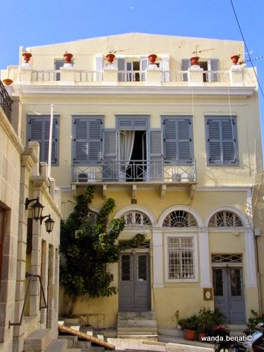 Ermoupolis, elegante residenza