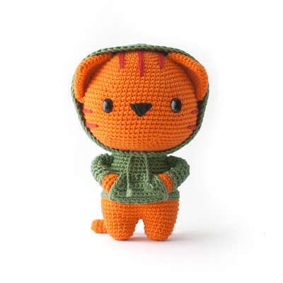 Milo the cat amigurumi pattern