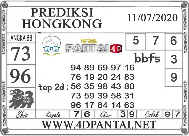 PREDIKSI TOGEL HONGKONG PANTAI4D 11 JULI 2020