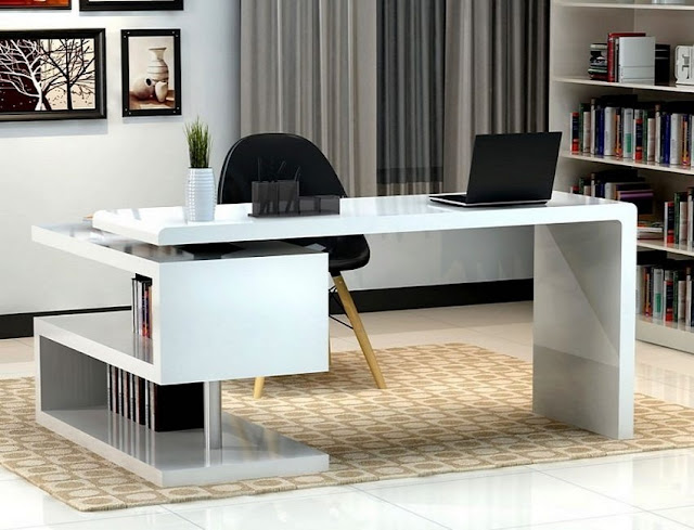 best buy white contemporary home office furniture Canada for sale online