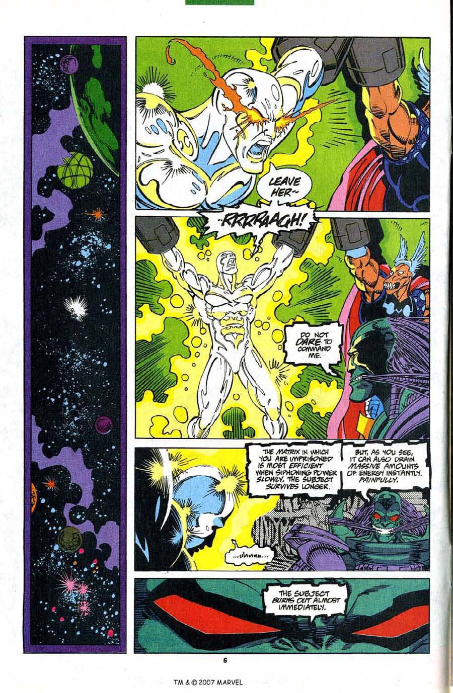 Read online Silver Surfer (1987) comic -  Issue #82 - 8