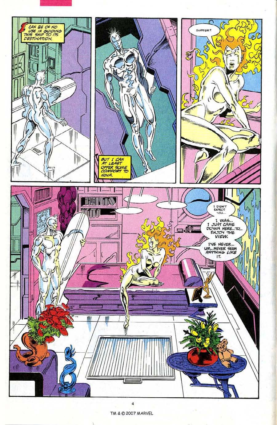 Read online Silver Surfer (1987) comic -  Issue #68 - 6