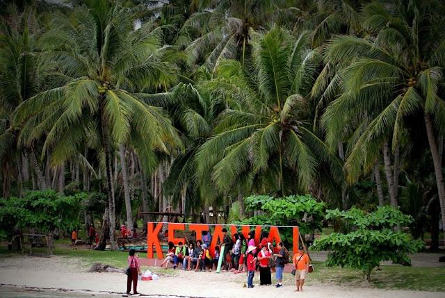 Wisata Pulau Ketawai Desa Kurau