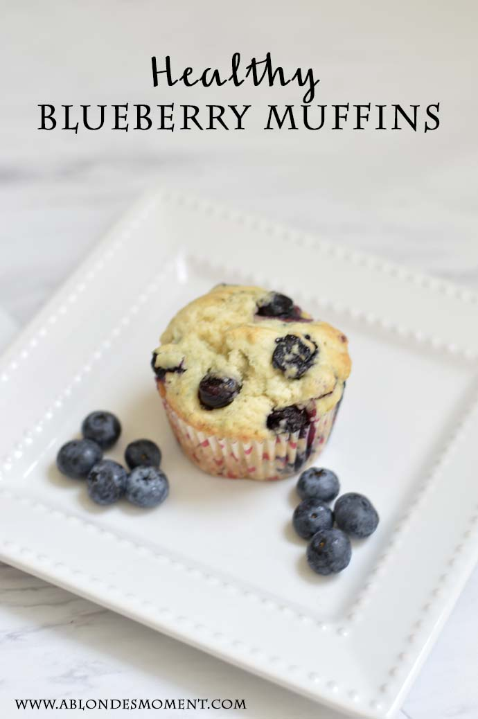 Healthy Blueberry Muffin Recipe @rachmccarthy7