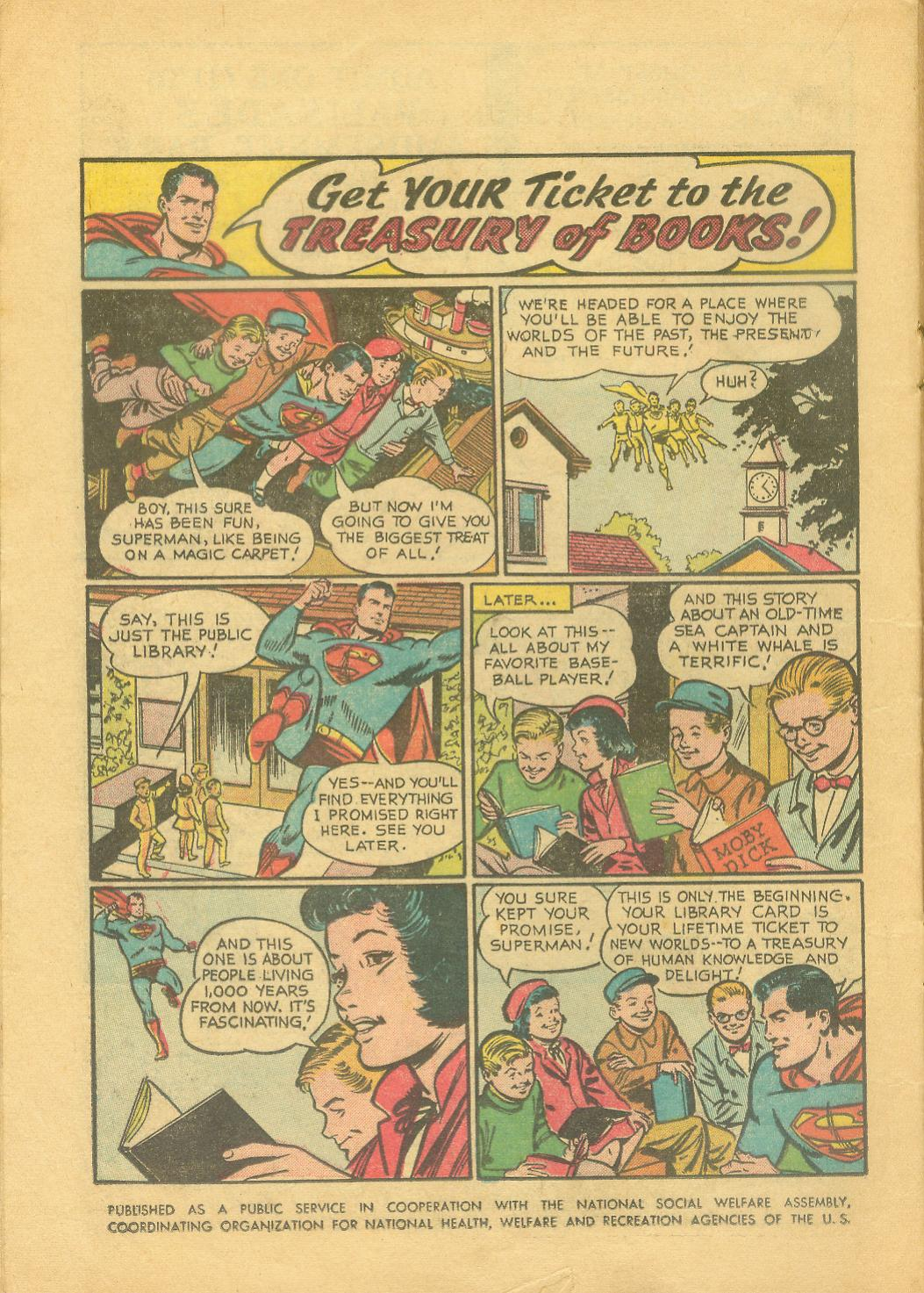 Read online Action Comics (1938) comic -  Issue #216 - 17