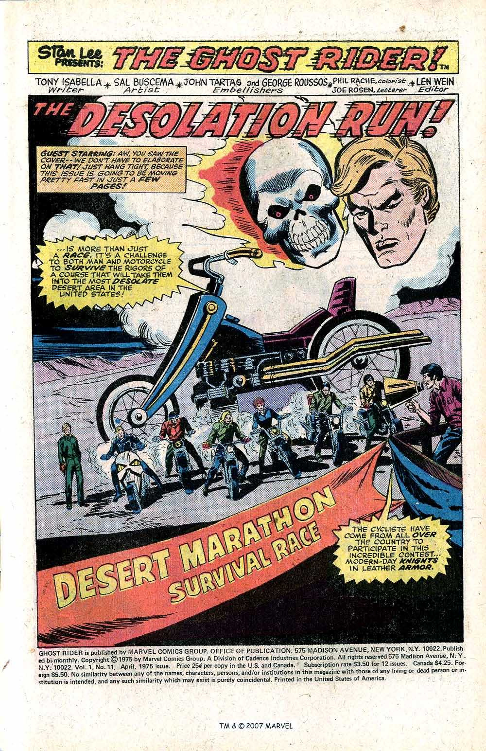 Ghost Rider (1973) Issue #11 #11 - English 3