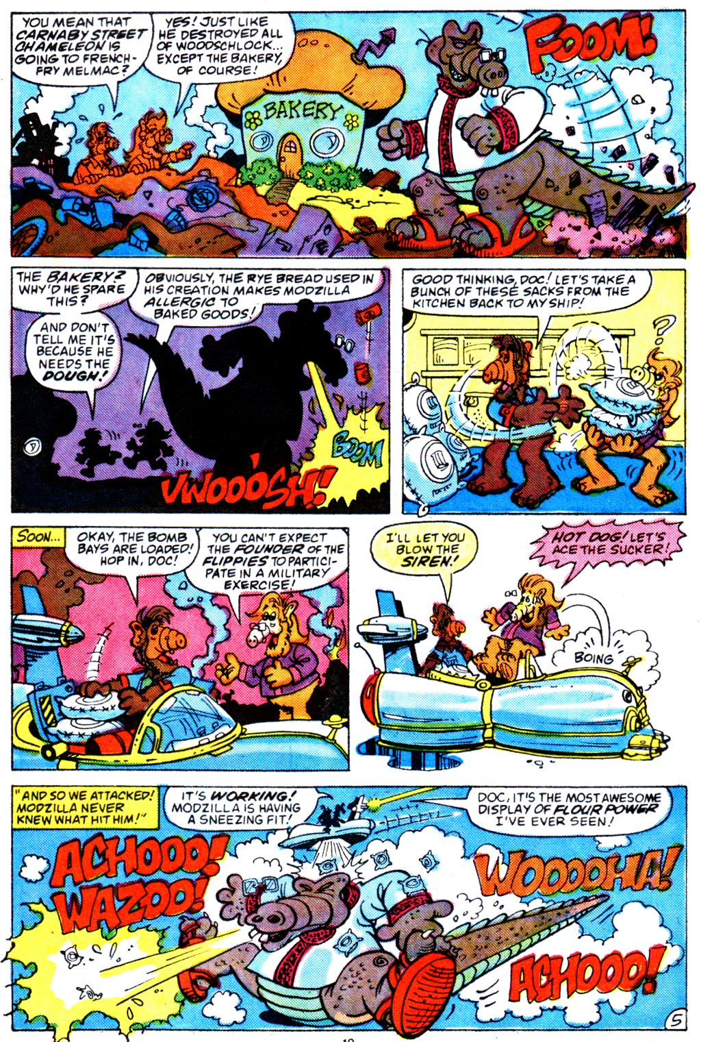 Read online ALF comic -  Issue #4 - 15