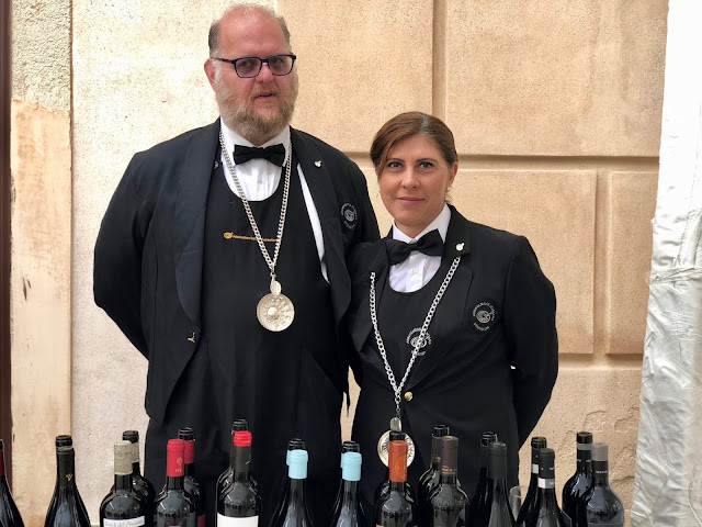 sommeliers from the Associazione Italiana Somelier, Sicily