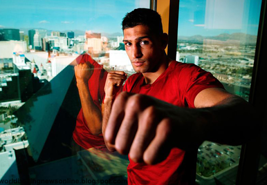 Amir Khan said: I can knockout Floyd Mayweather and I really want to get in a fight with him ~ World Boxing News