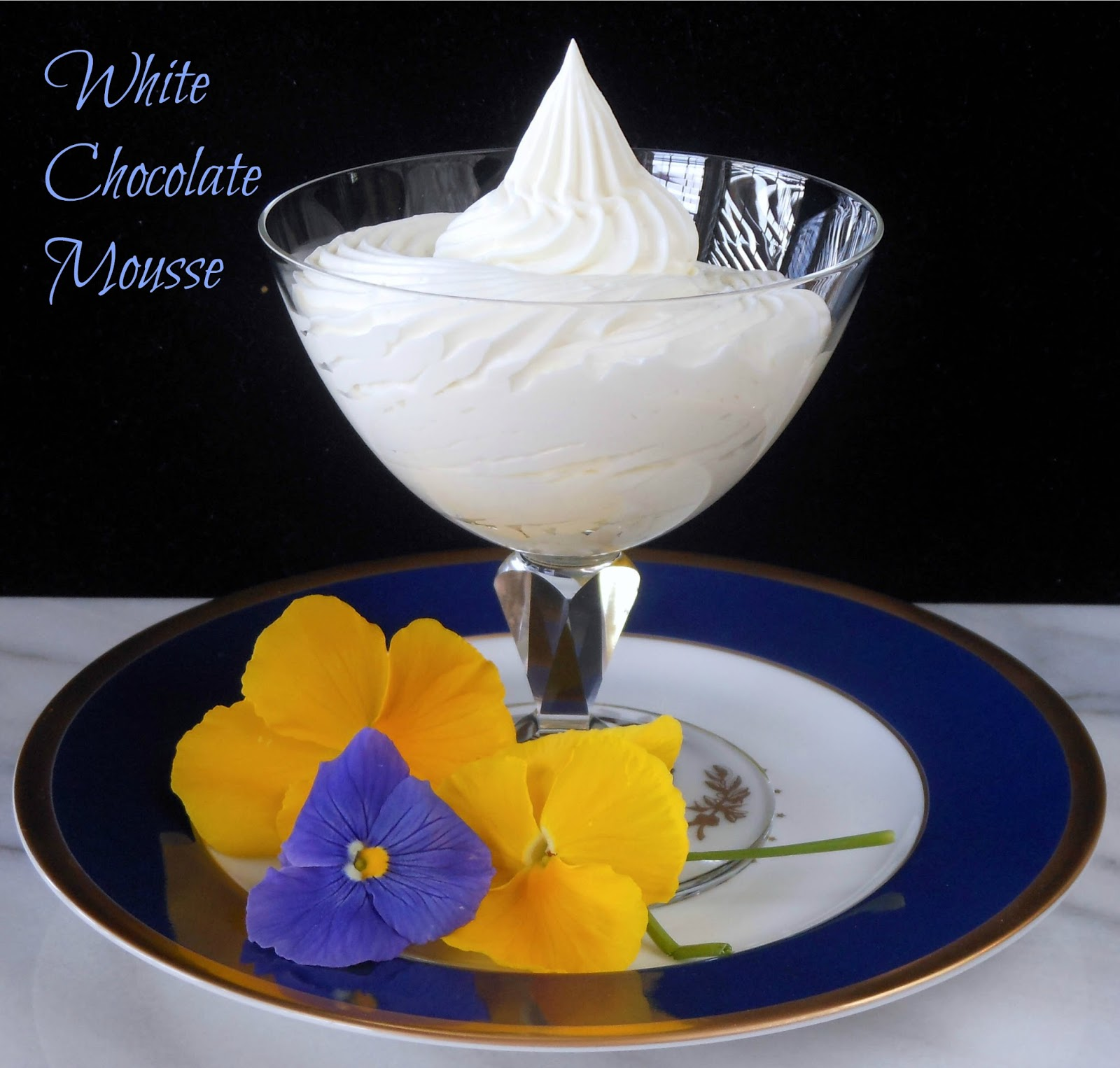 My Cookie Clinic: WHITE CHOCOLATE MOUSSE/ Easy Holiday Dessert