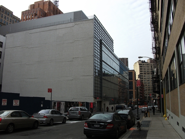 Photo of surrounding buildings at 56 Leonard Street Construction Site, New York