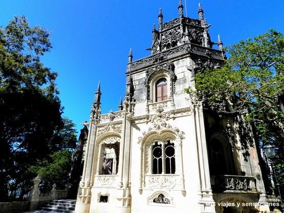 Torre octogonal del palacio de la Quinta da Regaleira, Sintra