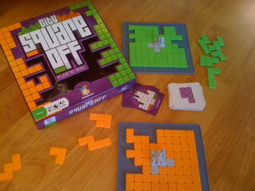 City Square Off Review | Board Game Reviews by Josh