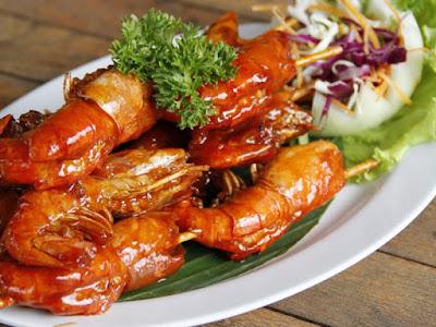 Kuliner Indonesia - Bale Udang Mang Engking