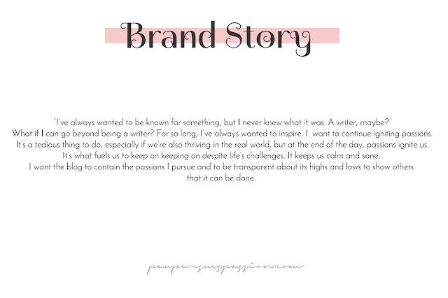 paupursuespassion.com brand story
