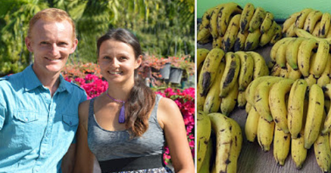امرأة وزوجها يقرران تناول ثمرة الموز لفترة اثنا عشرة يوما فلن تتخيل ماحدث لهم ؟!