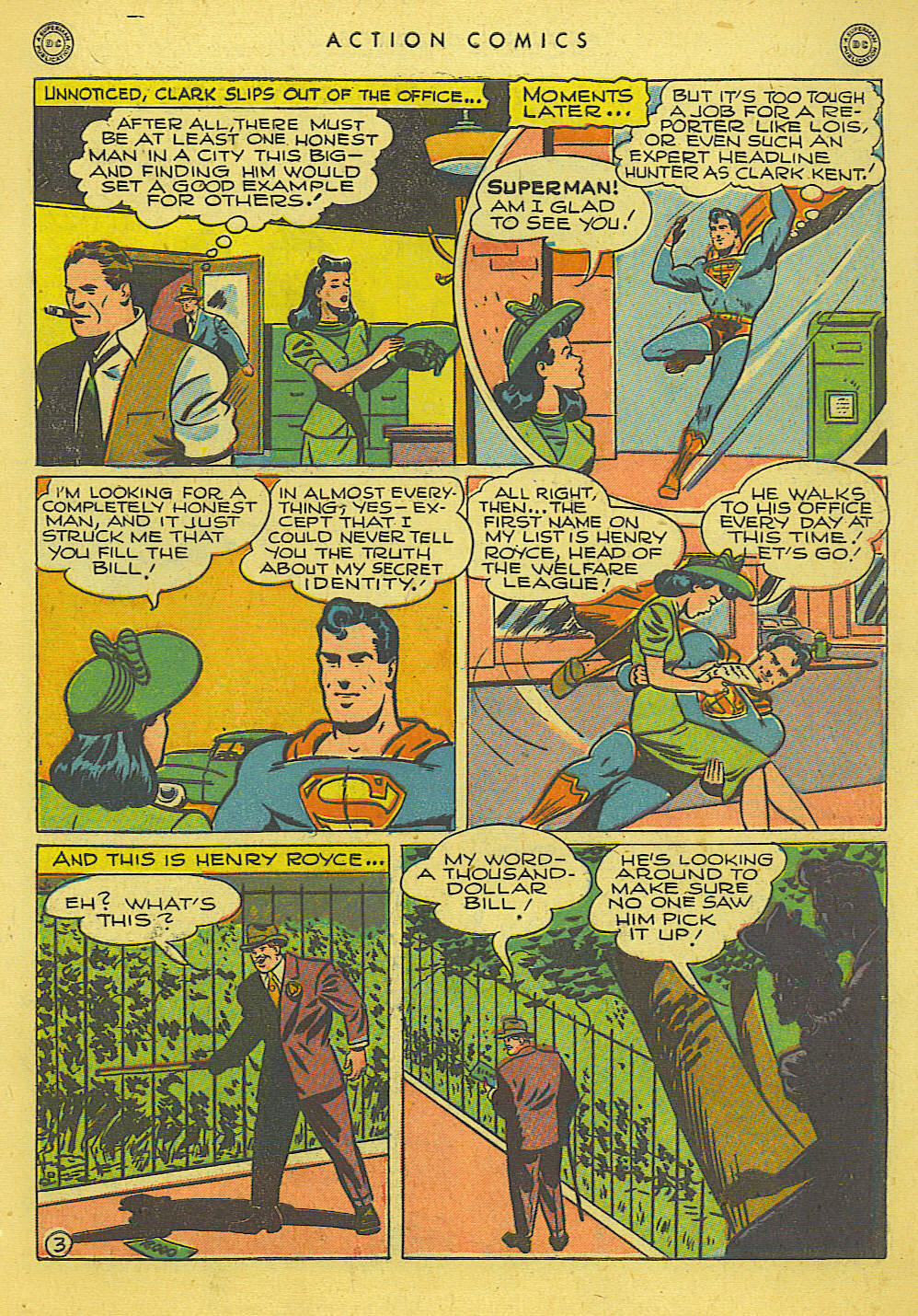 Read online Action Comics (1938) comic -  Issue #114 - 5