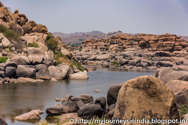 Hampi Tungabhadra River