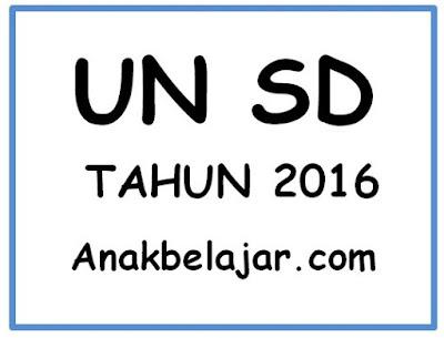 Kumpulan Prediksi soal UN kelas 6 SD tahun 2016