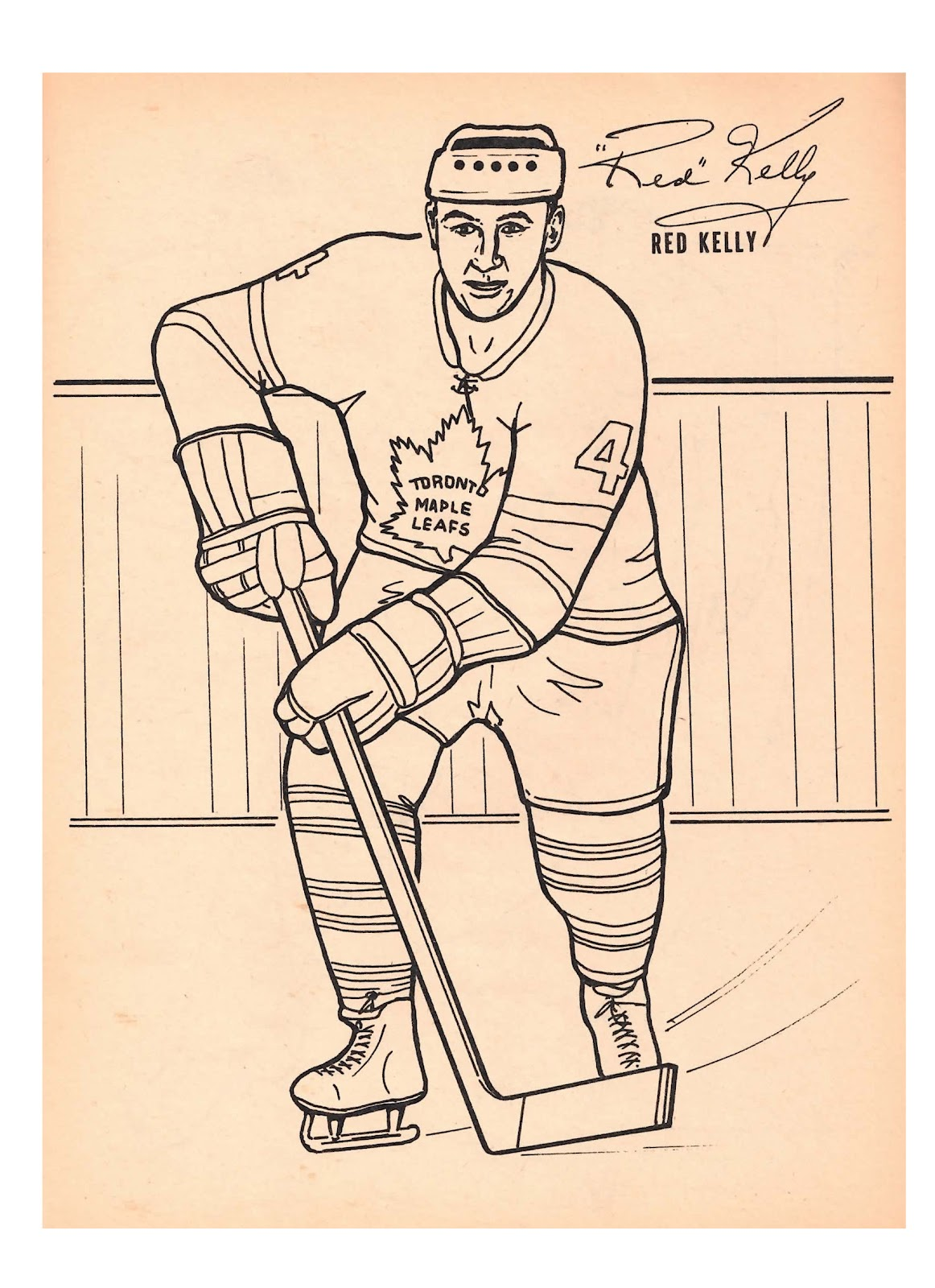 Toronto Maple Leafs Coloring Pages - Learny Kids
