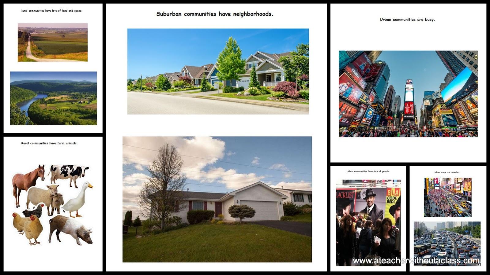 Grade 3 Social Stu S Urban And Rural Communities